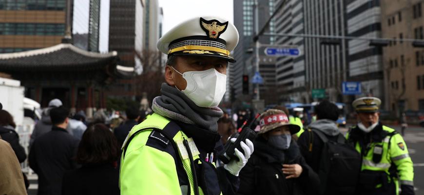 Güney Kore'de kilise ayinine katılanlara koronavirüs bulaştı
