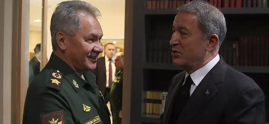 Milli Savunma Bakanı Akar Rus mevkidaşı Şoygu ile İdlib'i görüştü