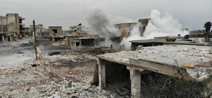Rusya ve Esed rejimi İdlib'de 60 hava saldırısı gerçekleştirdi