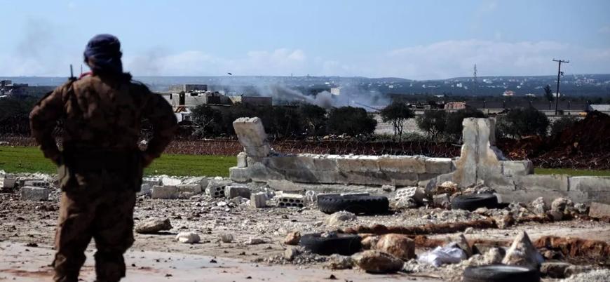 Rusya ve İran destekli rejim güçleri İdlib'in güneyinde ilerliyor