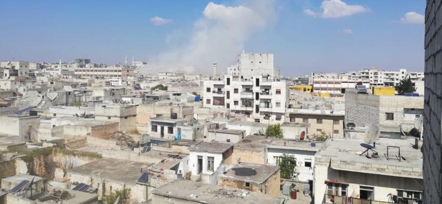 Rusya ve Esed rejimi İdlib şehir merkezinde okulları vurdu