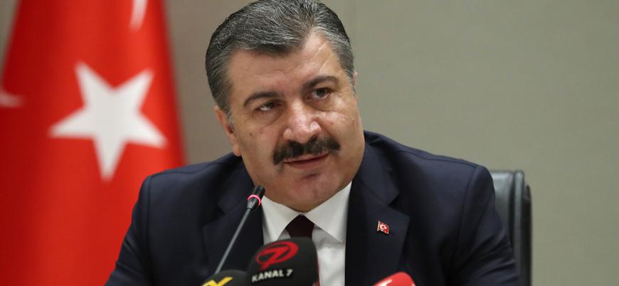 Sağlık Bakanı Koca'dan koronavirüs şüphesiyle Ankara'ya inen uçağa dair açıklama