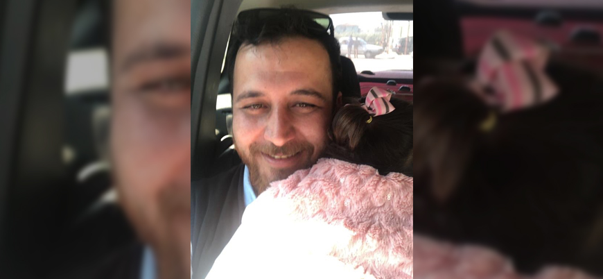 Kızı korkmasın diye bomba seslerini oyuna dönüştüren Suriyeli aile artık Türkiye'de