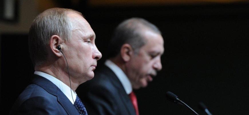 İdlib'deki saldırı sonrası Erdoğan ile Putin telefonda görüştü