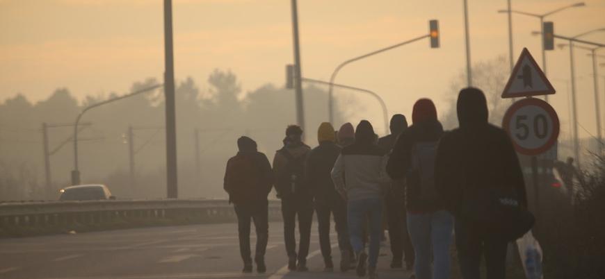 Dışişleri Bakanlığı: Sığınmacıların Batı'ya hareketi sürebilir