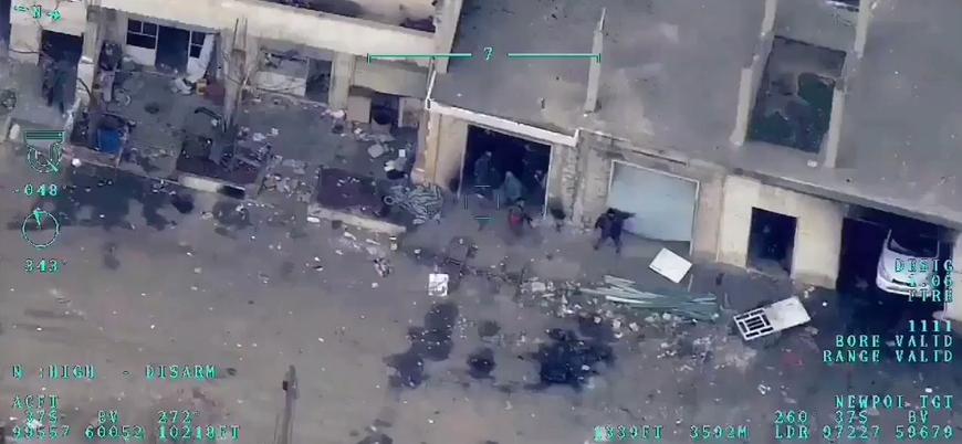 TSK İdlib'de rejim hedeflerini vurmaya devam ediyor