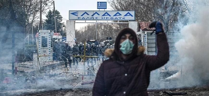 Yunan askeri ile mülteciler arasında çatışmalar şiddetlendi