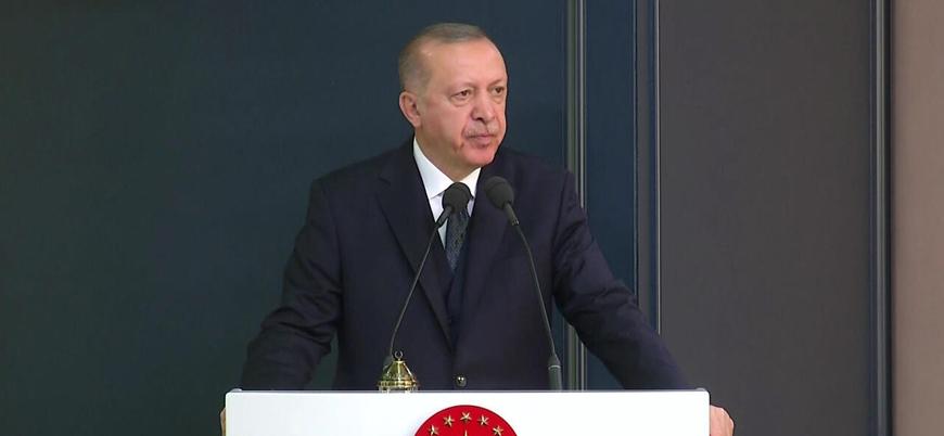 Erdoğan: Belirlenen sınırların gerisine çekilmezlerse omuzlarının üstündeki o başlar da kalmayacak