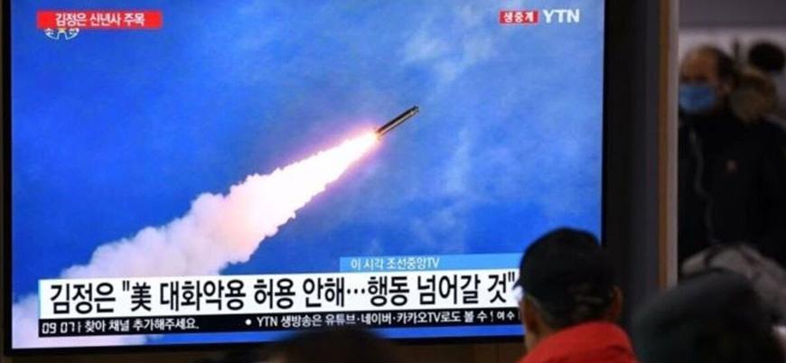Kuzey Kore'den 3 ay sonra ilk füze denemesi