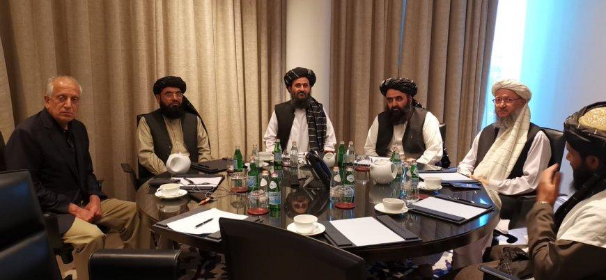 ABD Başkanı Trump Taliban Siyasi Ofis Şefi Molla Birader ile görüştü