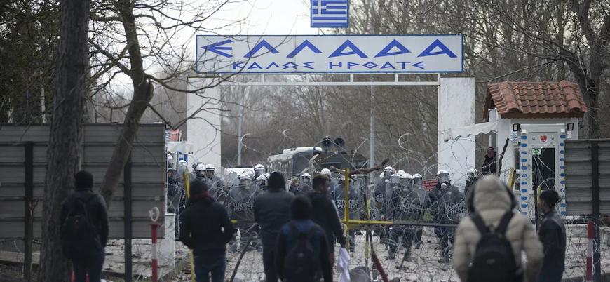 Yunanistan 218 mülteciyi gözaltına aldı