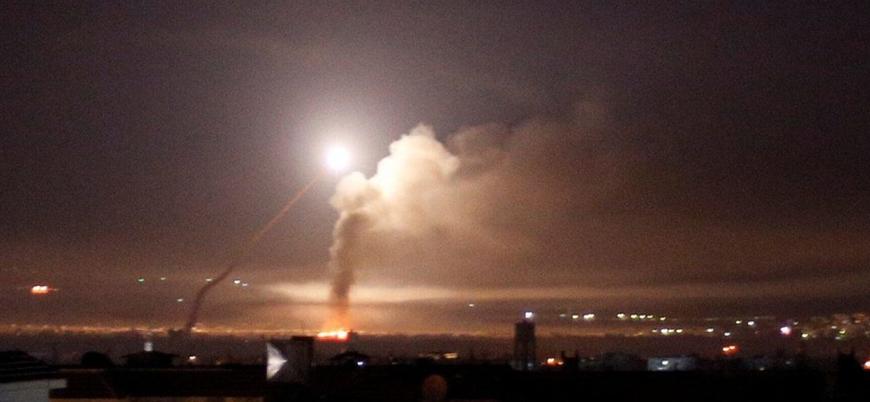 İsrail'den Humus'ta Esed rejimine hava saldırısı: 1 ölü 4 yaralı