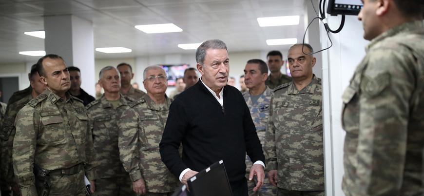 """""""Hulusi Akar 'Bu iş rejim defolup gidene kadar sürecek' dedi"""""""