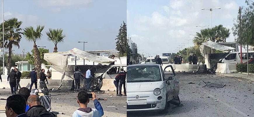 Tunus'ta ABD Büyükelçiliği yakınlarında canlı bomba saldırısı: 5 ölü