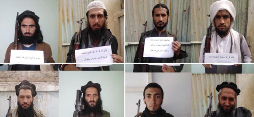 Afganistan'da çok sayıda IŞİD'li hükümet güçlerine teslim oldu
