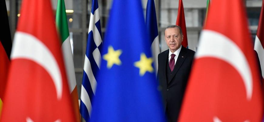 Times: Erdoğan AB yetkilileriyle yaptığı görüşmeyi terk etti