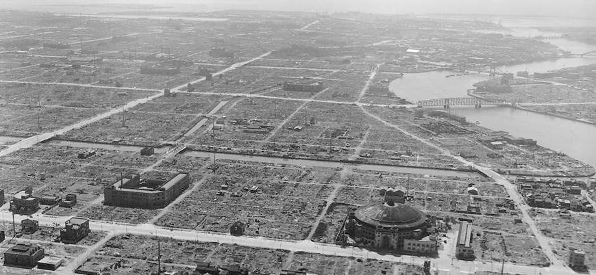 10 Mart 1945 : ABD'nin 100 bin sivili katlettiği Tokyo Bombardımanı