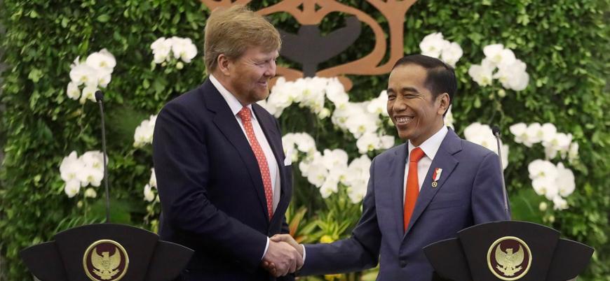 Hollanda kralı sömürge dönemi katliamları için Endonezya'dan özür diledi