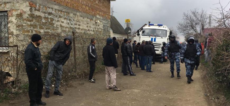 Rusya Kırım Tatarlarının evlerine 'Hizb-ut Tahrir' bahanesiyle baskın düzenledi