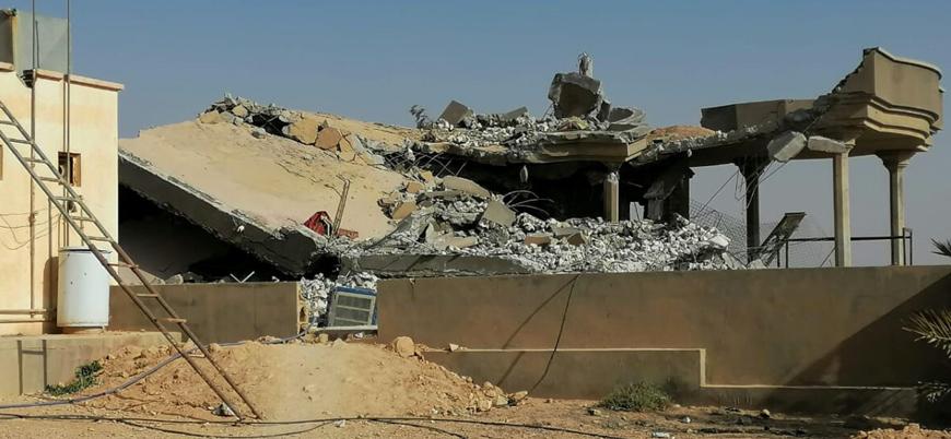 Suriye'nin doğusunda İran destekli Haşdi Şabi milislerine hava saldırısı