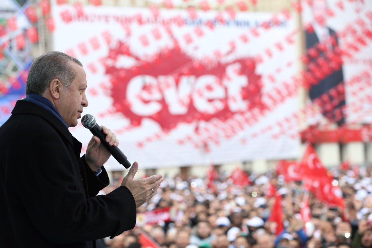 Erdoğan: Sıkıysa kipayı da yasaklasana