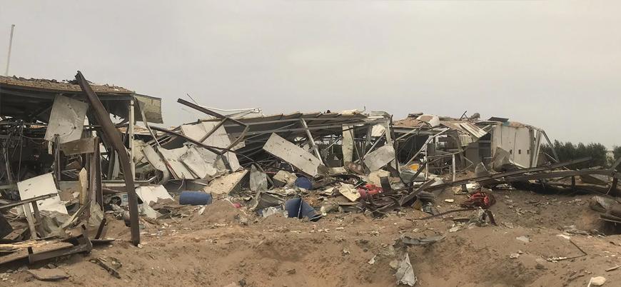 Irak ülkede hava saldırısı düzenleyen ABD'ye nota verdi