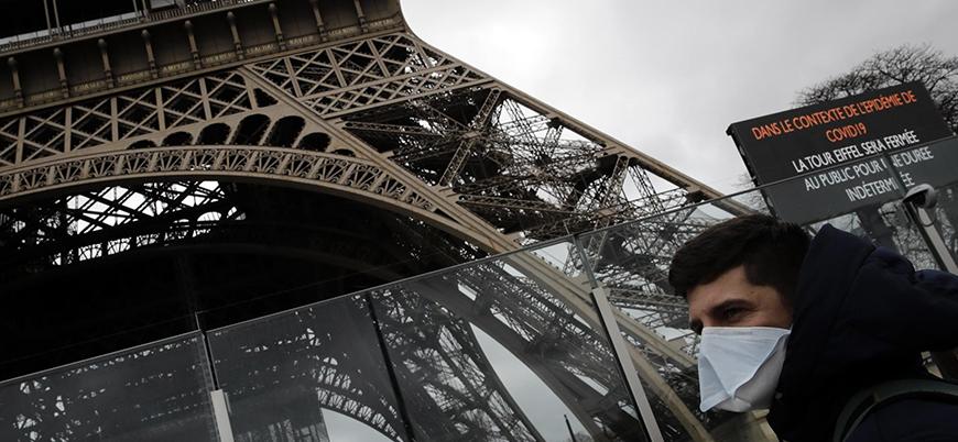 Koronavirüs: Fransa'da her yer kapatıldı