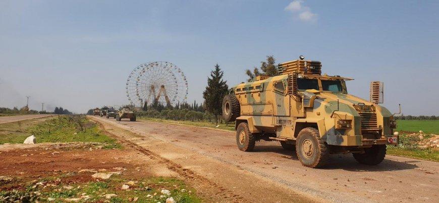 İdlib'de ilk Türk-Rus ortak devriyesi