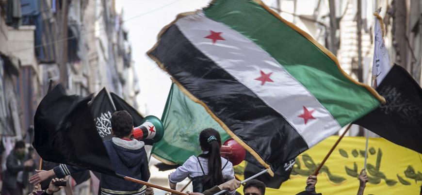Suriye Devrimi 10'uncu yılına girdi