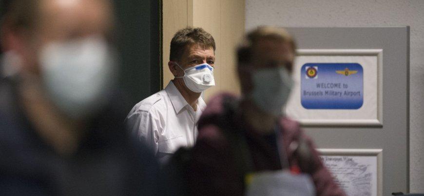 Belçika'da koronavirüs tespit edilen kişi sayısı 1243'e yükseldi