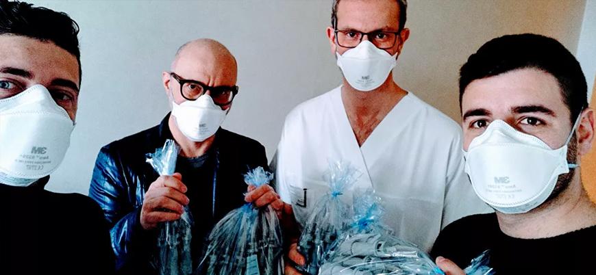 İtalya'da imalatçı şirketten koronavirüs hastaları için 3D yazıcıyla tıbbi vana üreten gönüllülere tehdit