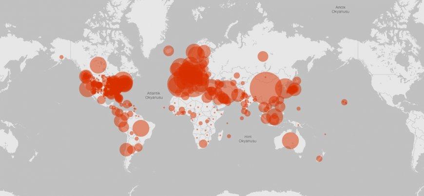 Koronavirüs: Dünya genelinde vaka sayısı 780 bini, can kaybı 37 bin 500'ü aştı