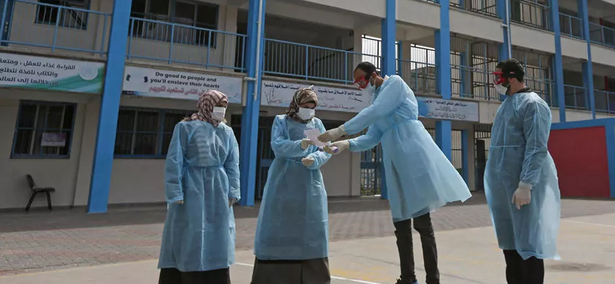 Gazze'de ilk koronavirüs vakası tespit edildi