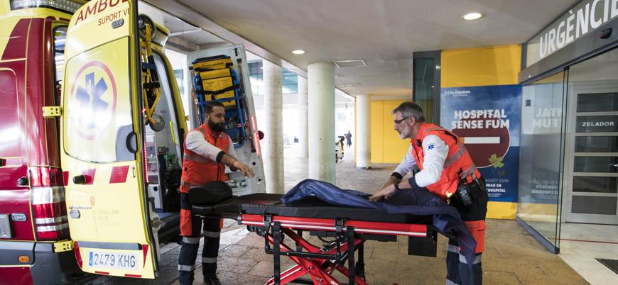 İspanya'da 1 günde 394 kişi hayatını kaybetti