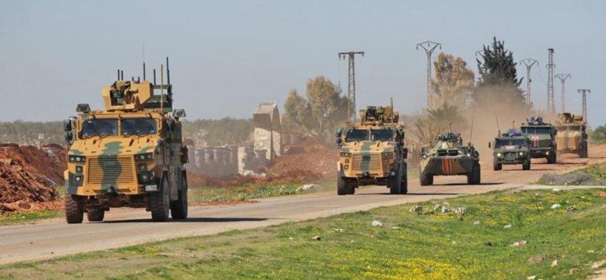 İdlib'de Türkiye ile Rusya arasında ikinci ortak kara devriyesi