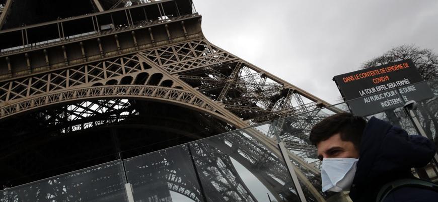 Fransa'da koronavirüs nedeniyle ölenlerin sayısı 860'a çıktı