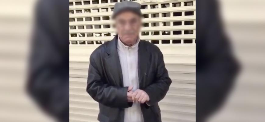 Kendisini polis olarak tanıtıp yaşlı adamla alay eden kişi yakalandı