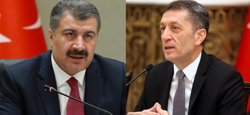 Sağlık Bakanı Koca ve Milli Eğitim Bakanı Selçuk ortak basın açıklaması yapacak