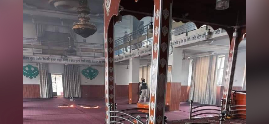 IŞİD Afganistan'ın başkenti Kabil'de Sih tapınağına saldırdı