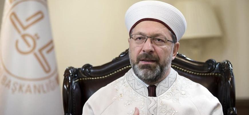 Diyanet İşleri Başkanı Erbaş koronavirüs salgınına karşı canlı yayında dua edecek