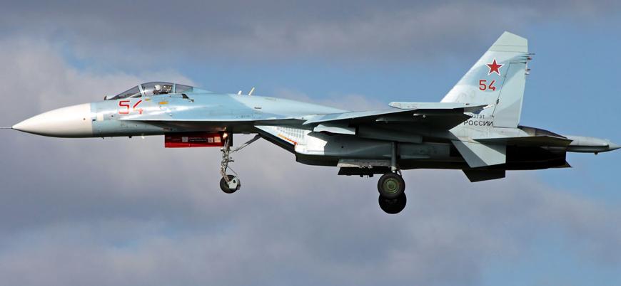 Karadeniz'de Rusya'ya ait bir Su-27 savaş uçağı düştü