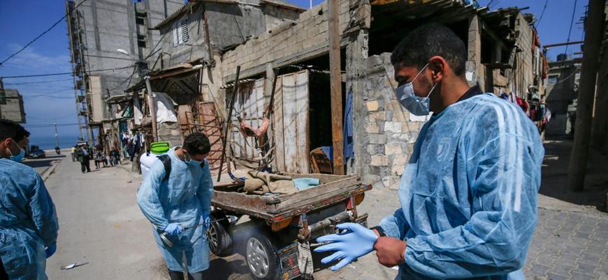 İsrail kuşatması altındaki Gazze'de koronavirüs krizi kapıda