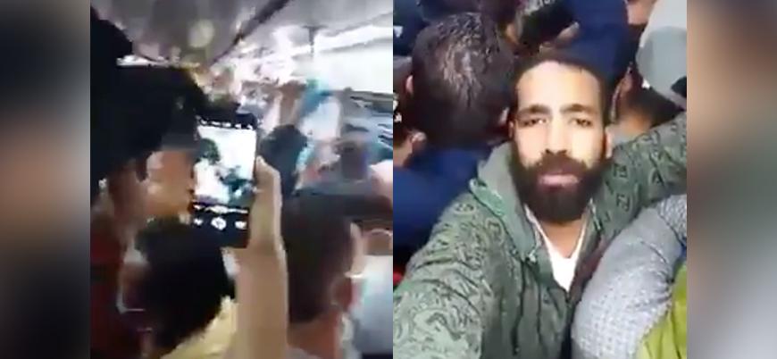 Mısır metrosunda halkın koronavirüs isyanı: Burada ölüyoruz