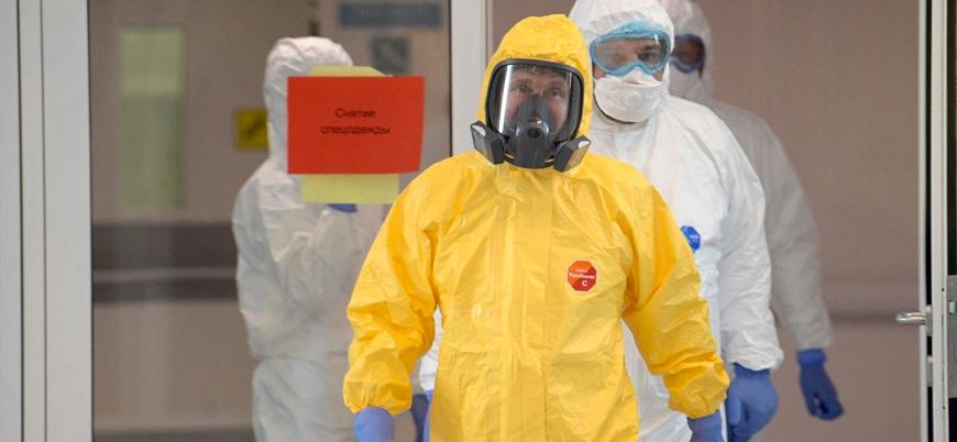 Kremlin'de bir kişide koronavirüs tespit edildi