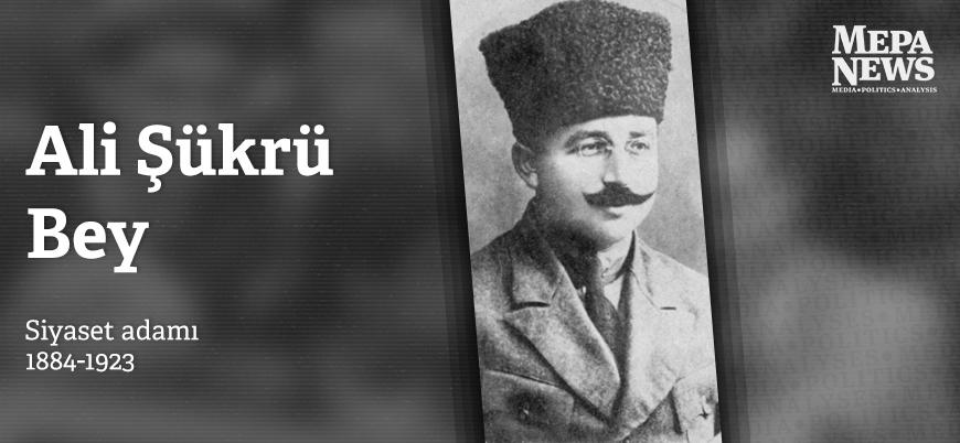 Ali Şükrü Bey kimdir?
