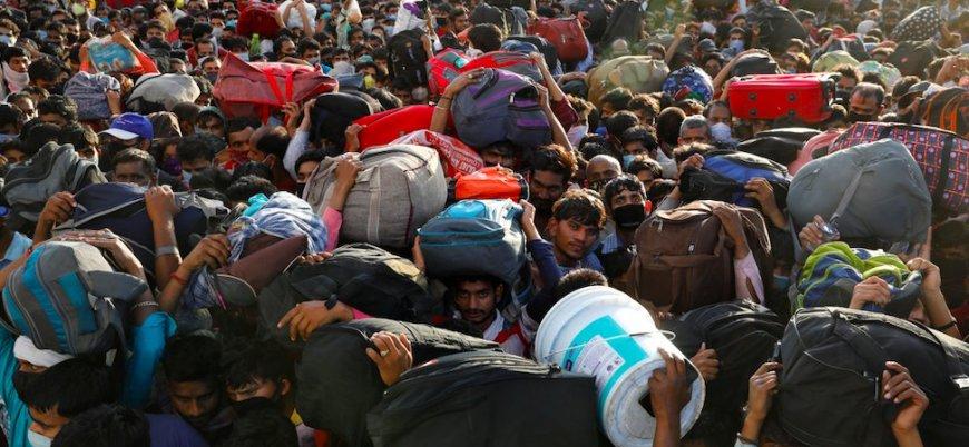 Hindistan'da 'korona göçü'