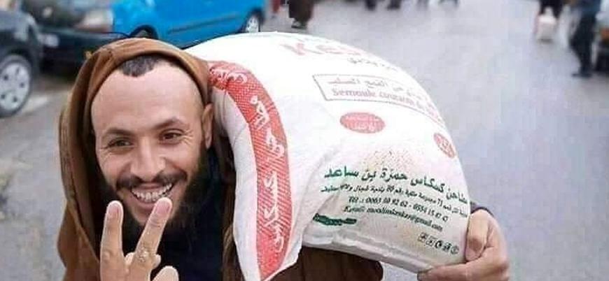 Koronavirüs salgını nedeniyle gıda krizi patlak veren Cezayir'de un kıtlığı yaşanıyor