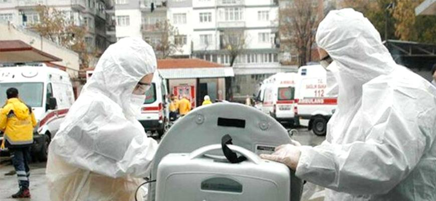 Türkiye'de vaka sayısı 10 bin 827'ye can kaybı 168'e yükseldi