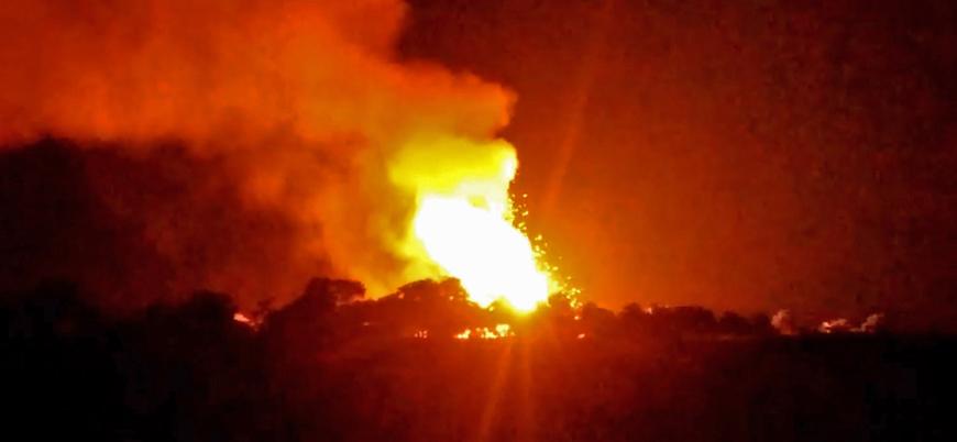 Ağrı'da Türkiye-İran doğalgaz hattında patlama