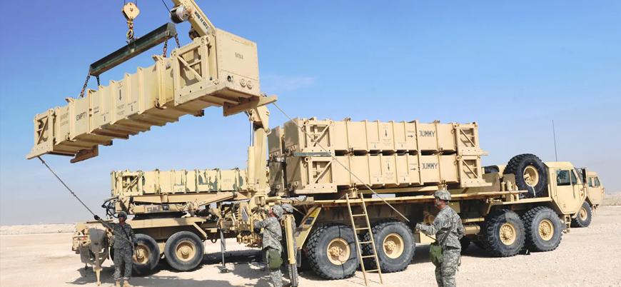 ABD Irak'a Patriot hava savunma sistemi kurdu